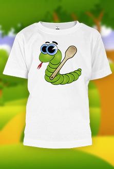Ide zmija 1 - dečija majica