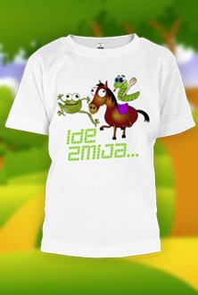 Ide zmija 4 - dečija majica